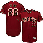Majestic Men's Authentic Arizona Diamondbacks Shelby Miller #26 Alternate Red Flex Base On-Field Jersey
