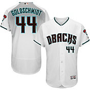 Majestic Men's Authentic Arizona Diamondbacks Paul Goldschmidt #44 Alternate Home White Flex Base On-Field Jersey