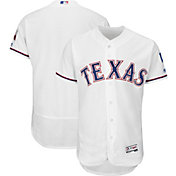 Majestic Men's Authentic Texas Rangers Home White Flex Base On-Field Jersey