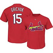 Majestic Youth St. Louis Cardinals Randal Grichuk #15 Red T-Shirt