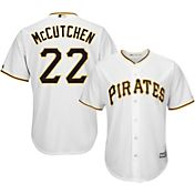 Majestic Youth Replica Pittsburgh Pirates Andrew McCutchen #22 Cool Base Home White Jersey