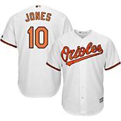 Majestic Youth Replica Baltimore Orioles Adam Jones #10 Cool Base Home White Jersey