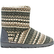 MUK LUKS Women's Short Lug Bootie Slippers