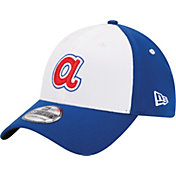 New Era Men's Atlanta Braves 39Thirty Cooperstown Classic White/Royal Flex Hat