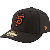 New Era Men's San Francisco Giants 59Fifty Diamond Era Black Low Crown Fitted Hat