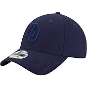 New Era Men's San Diego Padres 39Thirty Diamond Era Tone Tech Navy Flex Hat