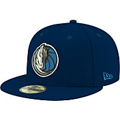New Era Men's Dallas Mavericks 59Fifty Navy Fitted Hat