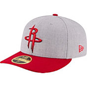 New Era Men's Houston Rockets 59Fifty Low Crown Grey Fitted Hat