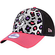 New Era Youth Girls' Seattle Mariners 9Forty Cheetah Chic Adjustable Hat