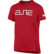 Nike Boys' Elite Shooter Graphic Basketball T-Shirt