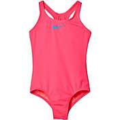 Nike Girls' Core Solid Racerback Tank Swimsuit