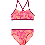 Nike Girls' Graphic Crossback 2-Piece Bikini