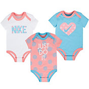 Nike Newborn Girls' Bodysuit Three-Piece Set