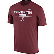 Nike Men's Alabama Crimson Tide Crimson Football Staff Legend T-Shirt