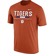 Nike Men's Clemson Tigers Orange Football Staff Legend T-Shirt