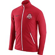 Nike Men's Ohio State Buckeyes Scarlet Elite Players Dri-FIT Touch Full-Zip Jacket