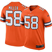 Nike Men's Color Rush 2016 Denver Broncos Von Miller #58 Legend Game Jersey
