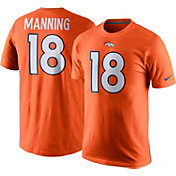 Nike Men's Denver Broncos Peyton Manning #18 Pride Orange T-Shirt