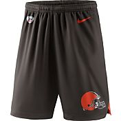 Nike Men's Cleveland Browns Dry Knit Brown Performance Shorts