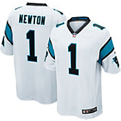 Nike Men's Away Game Jersey Carolina Panthers Cam Newton #1
