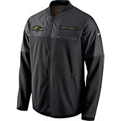 Nike Men's Baltimore Ravens Salute to Service 2016 Hybrid Black Jacket