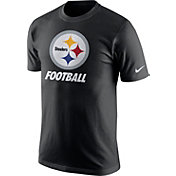 Nike Men's Pittsburgh Steelers Facility Black T-Shirt