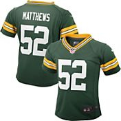 Nike Toddler Home Game Jersey Green Bay Packers Clay Matthews #52