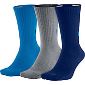 Nike Dri-FIT Cotton Swoosh HBR Crew Socks 3 Pack