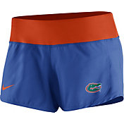 Nike Women's Florida Gators Blue Gear Up Crew Performance Shorts