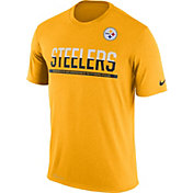 Nike Youth Pittsburgh Steelers Team Practice Gold T- Shirt