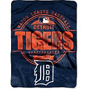 Northwest Detroit Tigers Structure Micro Raschel Throw Blanket