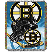 Northwest Boston Bruins Vintage 48 in x 60 in Tapestry Throw Blanket