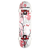 Punisher Skateboards 31' Cherry Blossom Skateboard