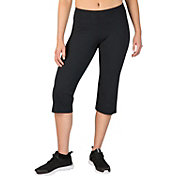 Reebok Women's Plus Size Fitness Essentials Regular Fit Capris