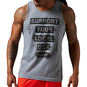 Reebok Men's CrossFit Support Your Local Box Graphic Sleeveless Shirt