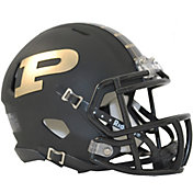 Riddell Purdue Boilermakers Speed Mini Football Black Helmet
