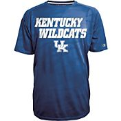 Champion Men's Kentucky Wildcats Blue Fade T-Shirt