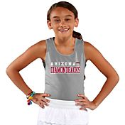 Soft As A Grape Youth Girls' Arizona Diamondbacks Grey Tank Top