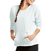 Soffe Women's French Terry Throwback Crop Sweatshirt