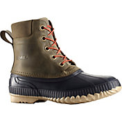 SOREL Men's Cheyanne Lace Leather Waterproof 200g Winter Boots