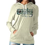 Touch by Alyssa Milano Women's Philadelphia Eagles Pre-Game Oatmeal Pullover Hoodie