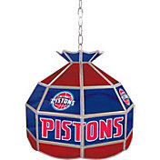 Trademark Games Detroit Pistons 16'' Tiffany Lamp