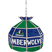 Trademark Games Minnesota Timberwolves 16'' Tiffany Lamp