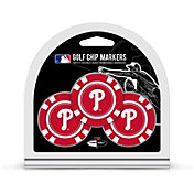 Team Golf Philadelphia Phillies Poker Chips Ball Markers - 3-Pack