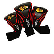 Team Golf Chicago Blackhawks 3-Pack Contour Headcovers