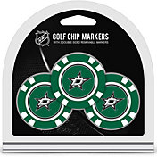 Team Golf Dallas Stars Poker Chips Ball Markers - 3-Pack