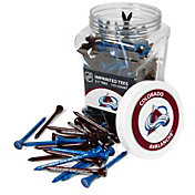 Team Golf Colorado Avalanche 175 Count Golf Tee Jar