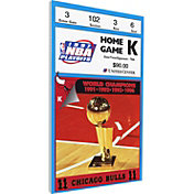 That's My Ticket Chicago Bulls 1997 NBA Finals Game 2 Canvas Ticket