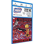 That's My Ticket Chicago Bulls 1998 NBA Finals Game 4 Canvas Ticket