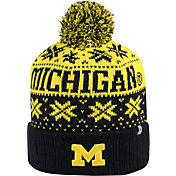 Top of the World Men's Michigan Wolverines Blue/Maize Sub Arctic Knit Beanie